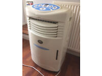 Portable air conditioner cooler.