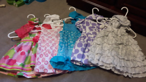 0-3 month dress lot