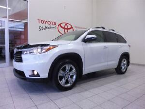 2015 Toyota Highlander * LIMITED * CUIR * TOIT PANO * AWD *