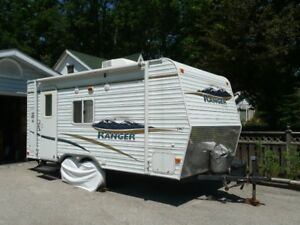 Immaculate 19 foot Ranger Laurention travel trailer for sale