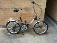Adults Folding hybrid Bike in Good Condition
