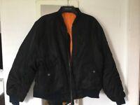 Men's large bomber jacket