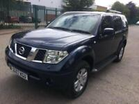 2007 NISSAN PATHFINDER AVENTURA 2.5 DCi 171 ( Tec Pack ) SPORT 7 SEATER 96K PX