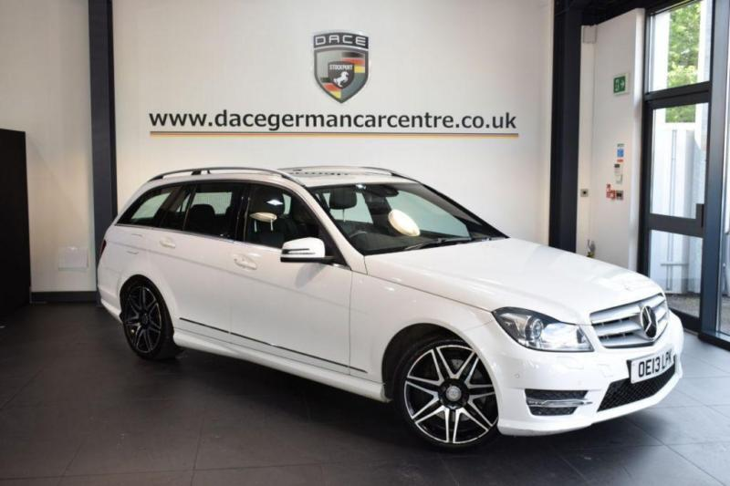 2013 13 MERCEDES-BENZ C CLASS 3.0 C350 CDI BLUEEFFICIENCY AMG SPORT PLUS 5DR AUT