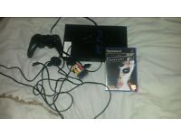 PlayStation 2 console with manhunt game
