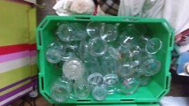 Box of mixed glasses