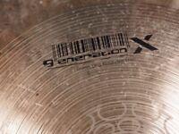 "Meinl 17"" Kompressor Crash Cymbal - Generation X"