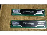16GB Ballistix Sport RAM