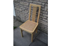 Dining chairs for upcycling