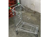 Foldable Heavy Duty Warehouse Trolley, Great Condition. Cheapest Available on Gumtree and Internet.