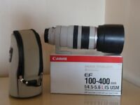 Canon EF 100 - 400mmf 4.5-5.6L IS USM ( Mark 1 )