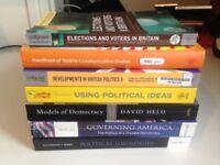 **Collection of Politics Textbooks**