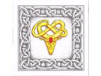 Zodiac Cards, Beautifully designed blank cards, 160 mm x 160 mm