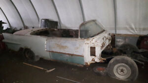 1956 Cadillac Eldorado and parts for sale