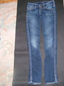 Silver McKenzie Jeans and Banana Republic Jeans