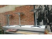 Stainless steel takeaway tables