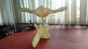 Inuit whale bone carving