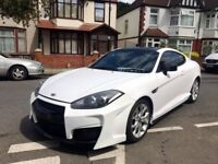 HYUNDAI COUPE SIII 2.0 WHITE RARE SPECIAL EDITION MODIFIED SHOWCAR HPI CLEAR NOT TSIII GT86 CELICA