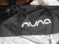 Nuna travel cot used twice - condition as new