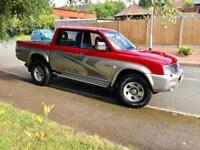 2004, Mitsubishi L200 Animal 4X4 diesel.
