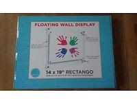 Wexel magnetic floating artwork frame