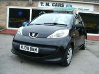 2009 Peugeot 107 1.0 12v Urban Lite 5d **£20 Tax / New MOT**