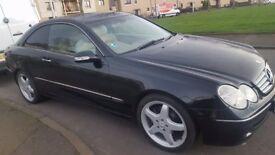 Mercedes CLK 2.6 Petrol 1 year MOT Great condition