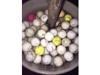 Golf balls x 50