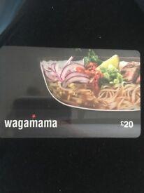 £20 wagamamas voucher