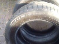 Tyres 255/55/19 Range Rover -ml Mercedes