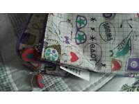 Wash bag & make up bag