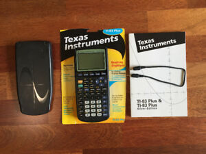 Texas Instruments Graphing cslculator
