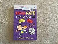 Big Nate Fun Blaster book by LIncoln Pierce NEW