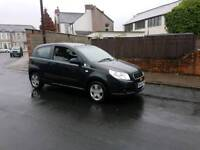 2008 in year 1.2 low miles chevrolet aveo ,ideal first car ,low insurance group ,px welocme