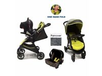 BRAND NEW!! Graco Fast Action 2 Travel System - Lime Green - RRP£200!!!