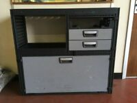 Van Storage Cabinet/ Module System & 3 Bottle Van Rack