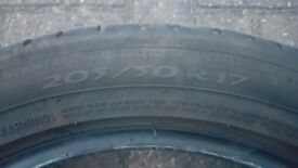 205/50 R17 MICHELIN PRIMACY 3 TYRE GOOD CONDITION