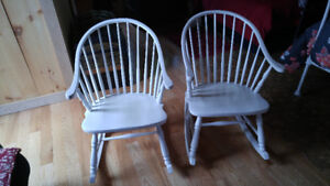 Chaises bercantes Windsor