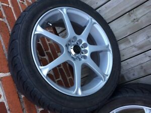 Super Steel 595 tires with KT Alloy Wheel Covers X4