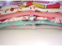 Next Baby Girl sleepsuits