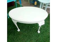 Vintage Coffe table Painted in Laura Ashley