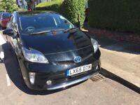 """Toyota Prius 2015 """"65"""" T-spirit Japn import UK registered Genuine mileage Black hybrid Prius"""
