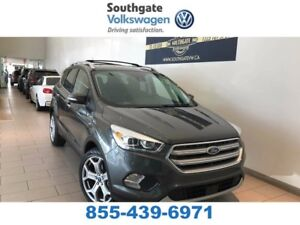 2017 Ford Escape Titanium | Leather | NAV | Moon Roof | Back Up