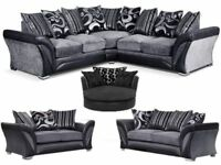 NOW SALE LUXURY DFS CORNER OR 3+2 SOFA NEW