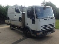 IVECO EUROCARGO FLAT BED MOT 1/18 CHOICE OF 2
