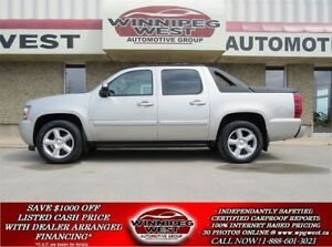 2008 Chevrolet Avalanche 1500 LTZ CREW 4X4, NAV, ROOF, LEATHER,