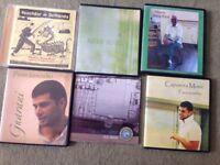 6 Capoeira CD's Mestre's Songs