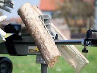 Wood Splitter 6.5 Ton Electric LOG SPLITTER Hydraulic Wood Axe Timber Maul Brand New