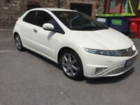 Honda Civic 1.8 EX i-VTECH 2006 - White - Sat Nav - AMAZING LOOKING CAR INSIDE AND OUT - MK8
