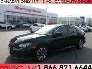 2017 Honda Civic HATCHBACK LX | TINT | 1 OWNER | PROTECTION PKG